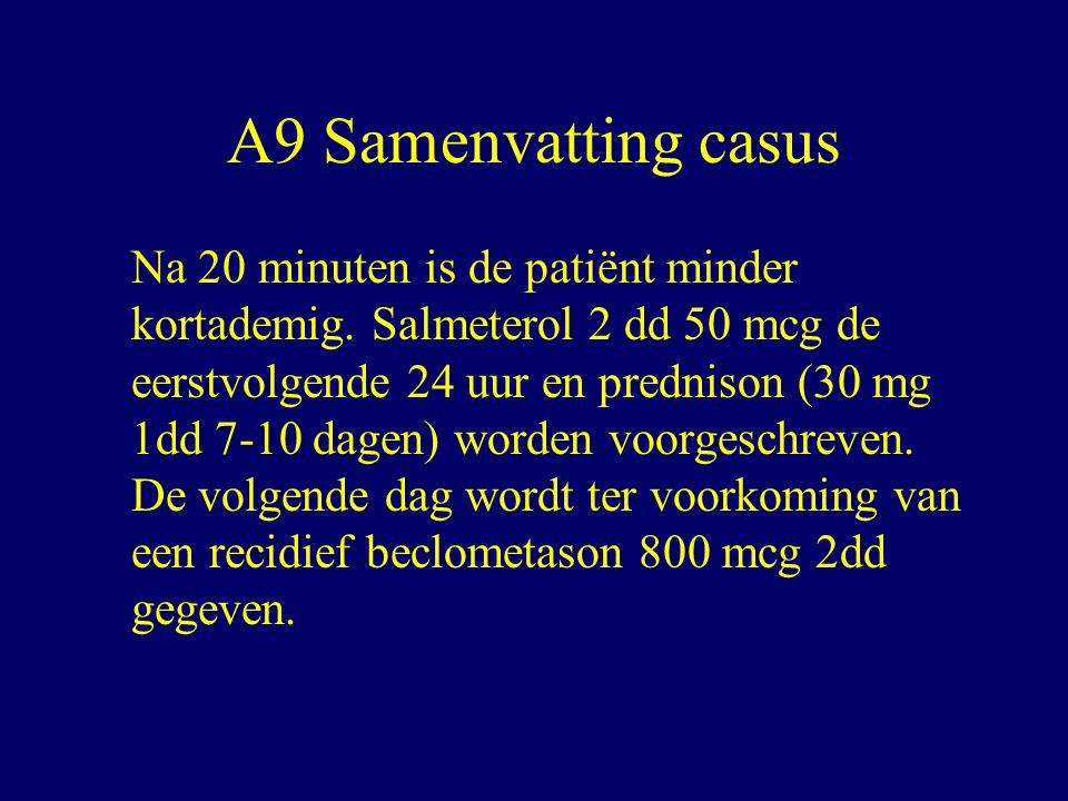A9 Samenvatting casus