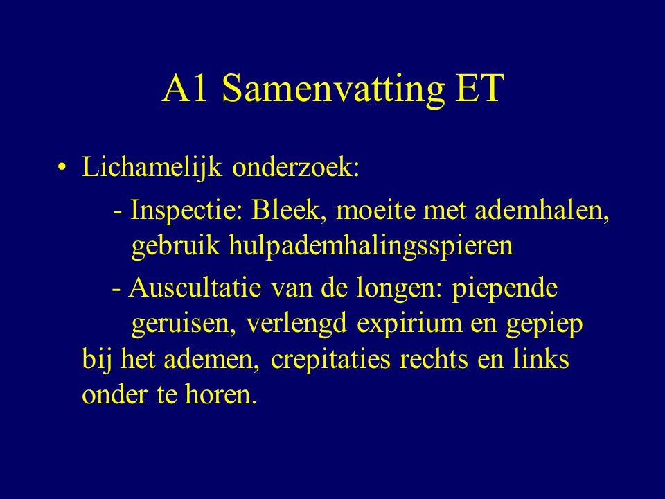 A1 Samenvatting ET Lichamelijk onderzoek: