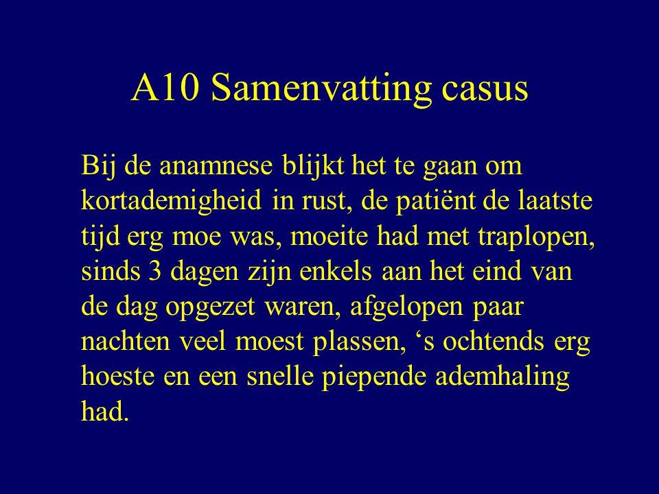 A10 Samenvatting casus