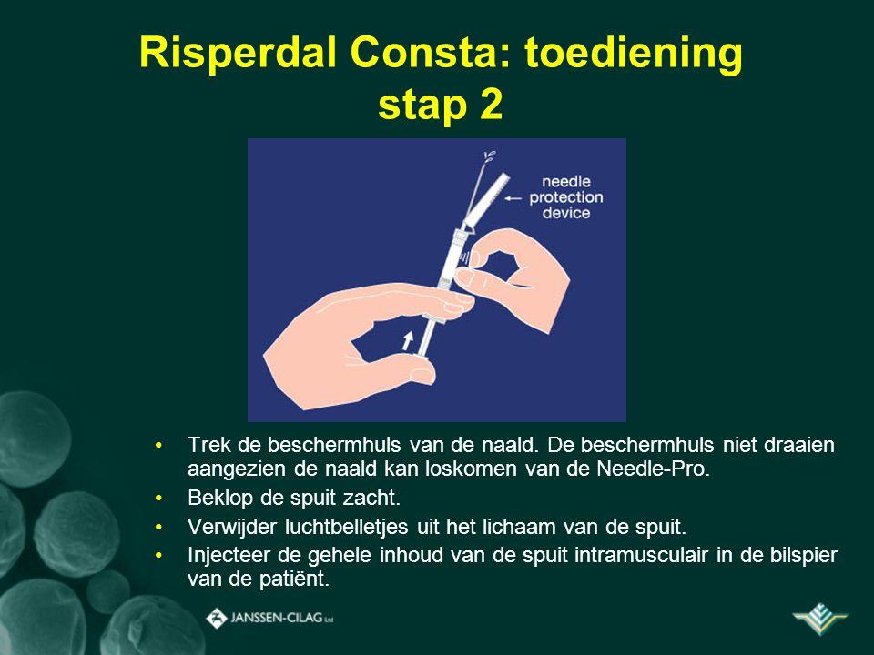 Risperdal Consta: toediening stap 2