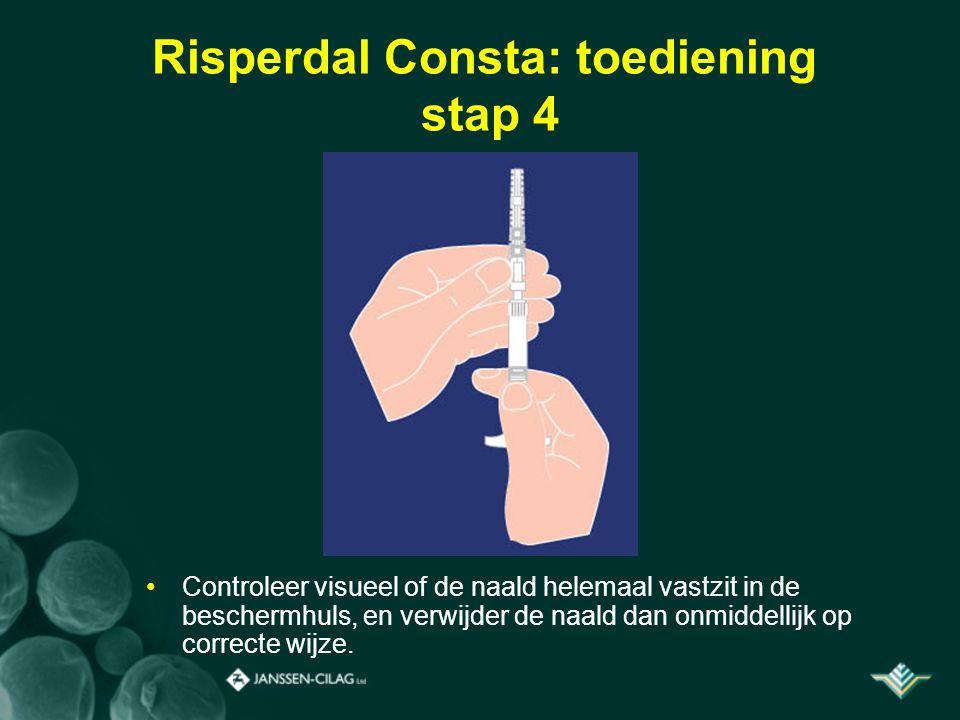 Risperdal Consta: toediening stap 4