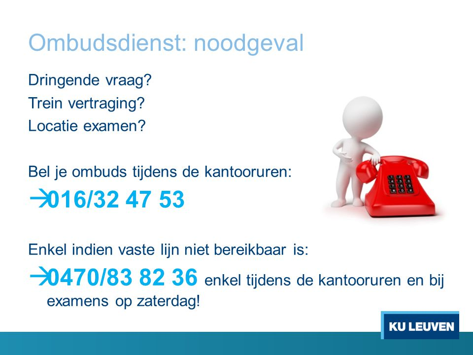 Ombudsdienst: noodgeval