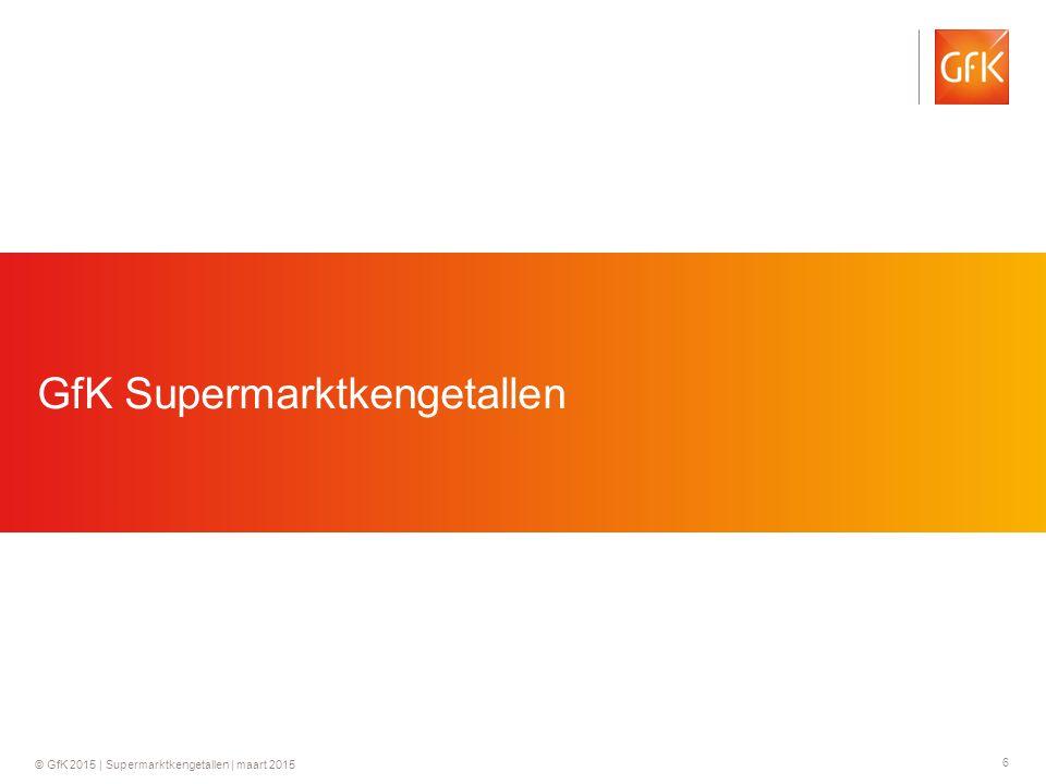 GfK Supermarktkengetallen