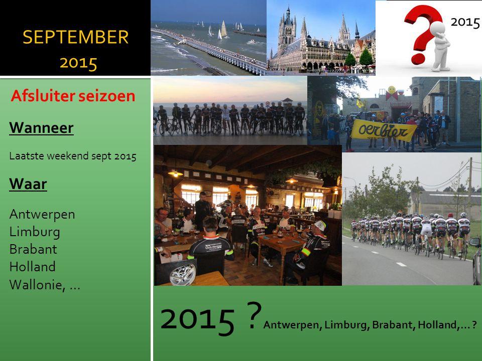 2015 Antwerpen, Limburg, Brabant, Holland,…