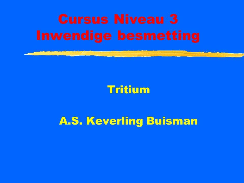 Cursus Niveau 3 Inwendige besmetting