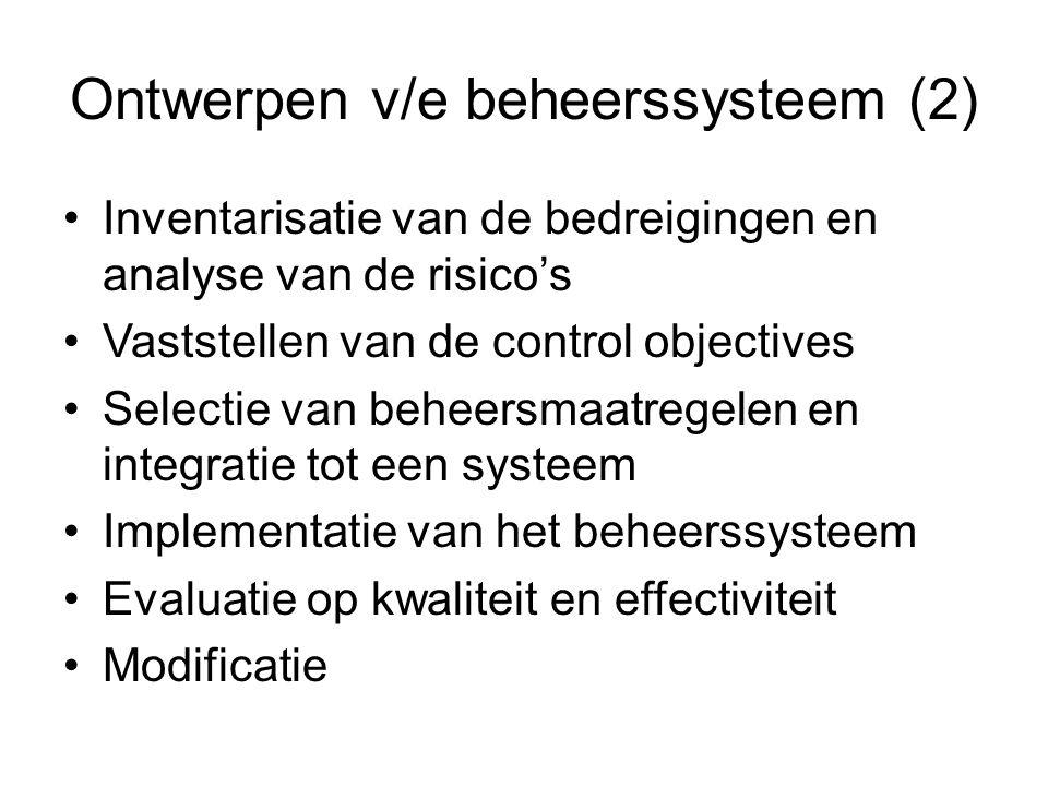 Ontwerpen v/e beheerssysteem (2)