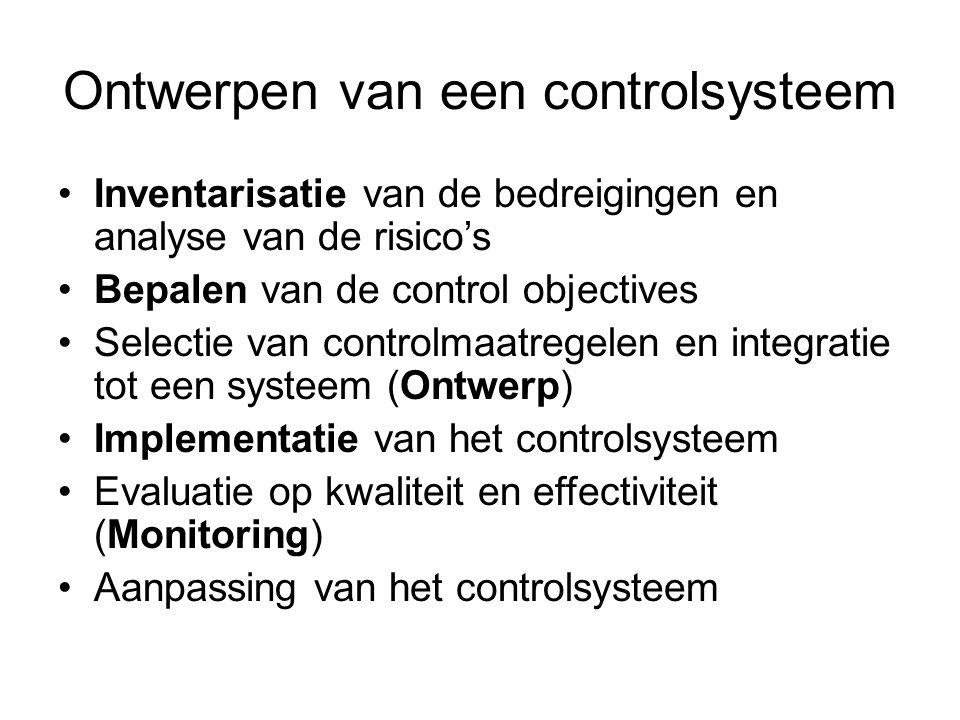 Ontwerpen van een controlsysteem
