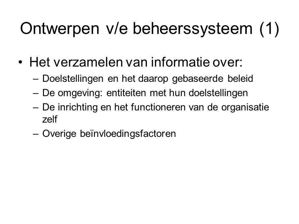 Ontwerpen v/e beheerssysteem (1)