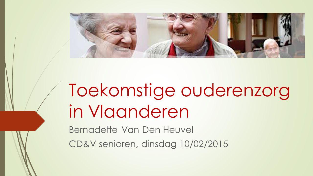 Toekomstige ouderenzorg in Vlaanderen