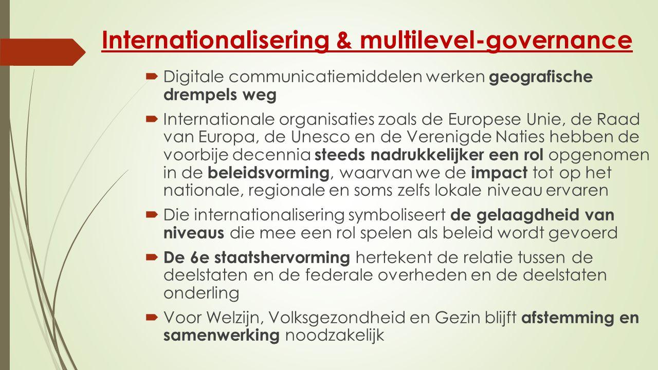 Internationalisering & multilevel-governance