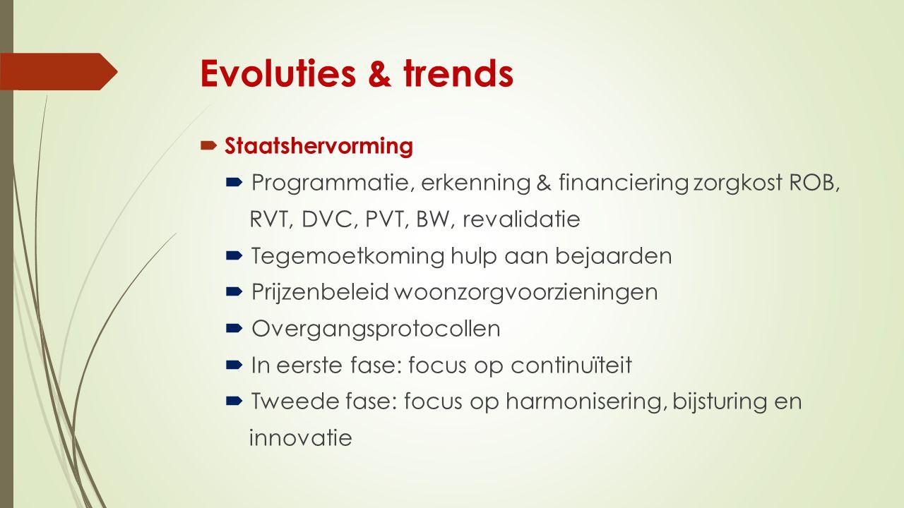 Evoluties & trends Staatshervorming