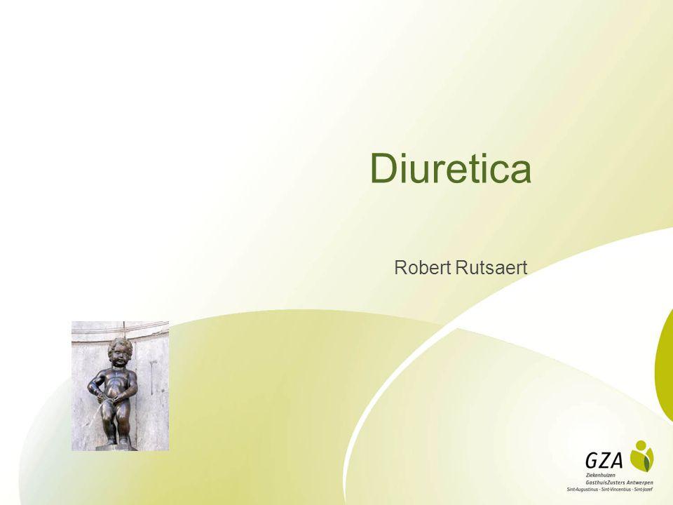 Diuretica Robert Rutsaert