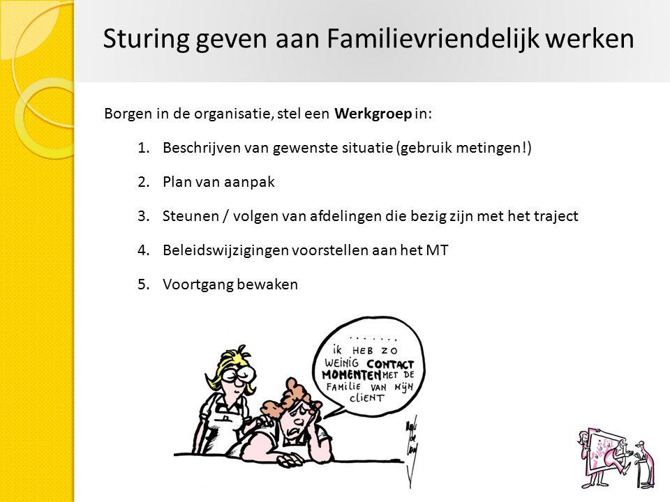 Sturing geven aan Familievriendelijk werken