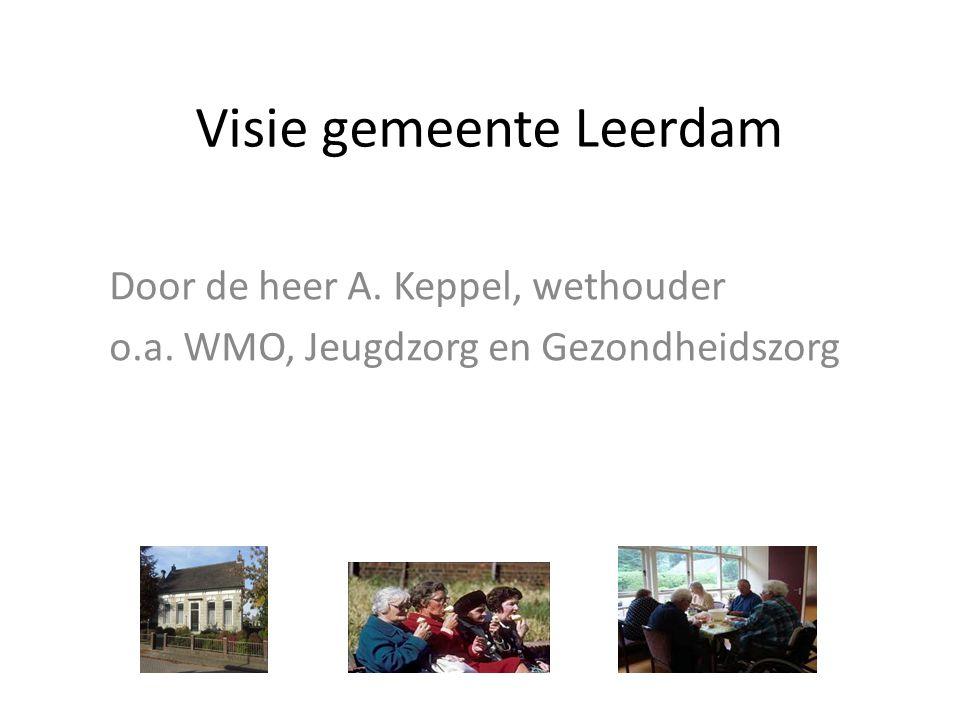 Visie gemeente Leerdam