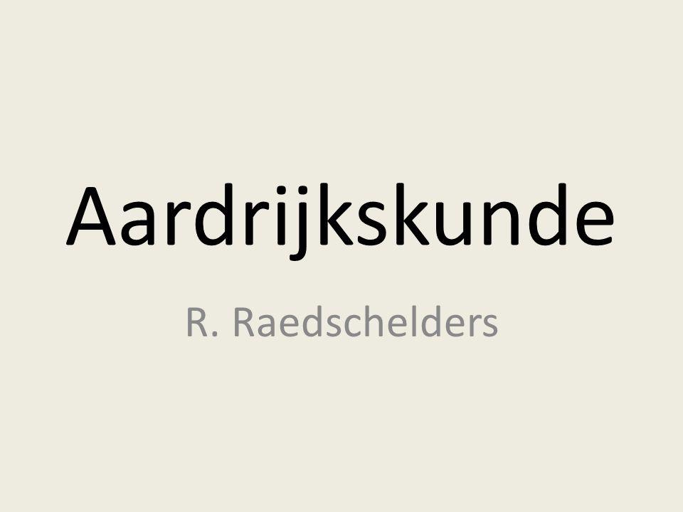 Aardrijkskunde R. Raedschelders