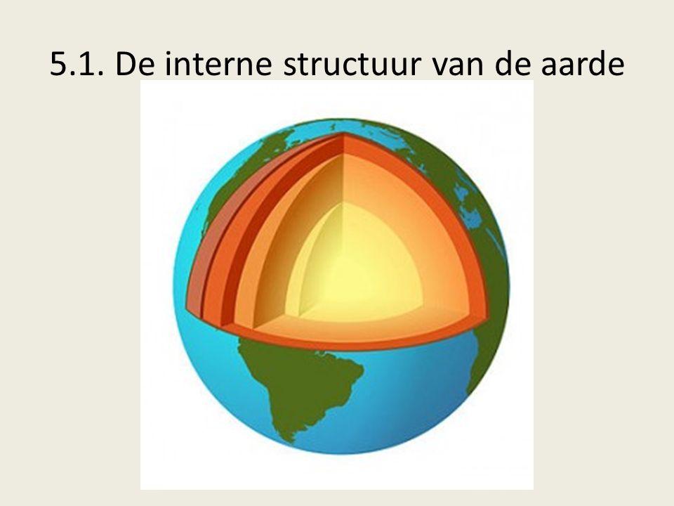 5.1. De interne structuur van de aarde