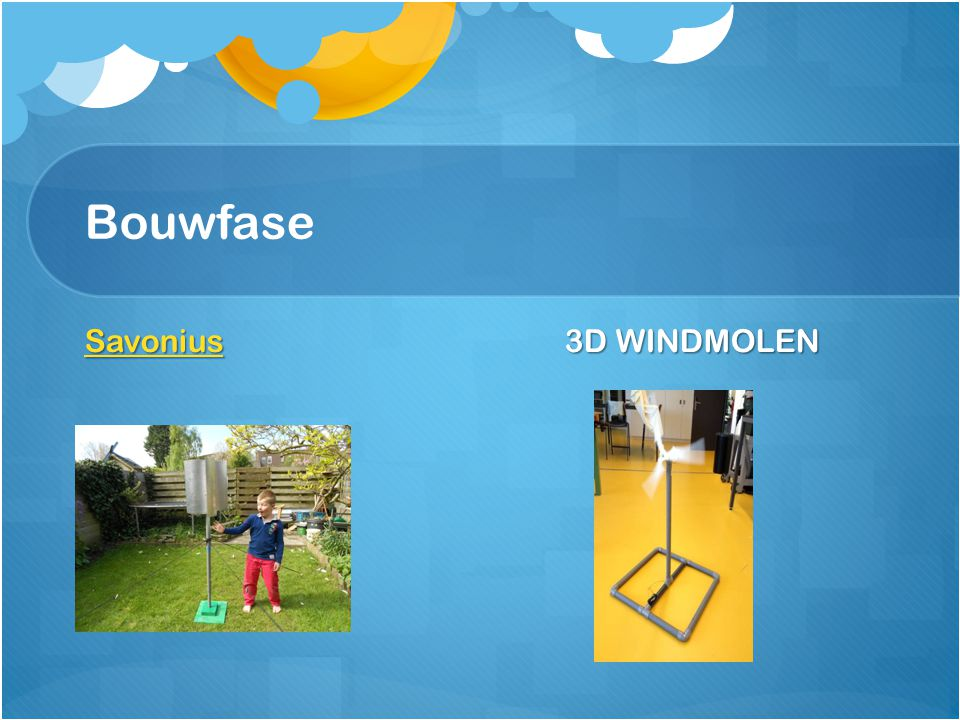 Bouwfase Savonius 3D WINDMOLEN