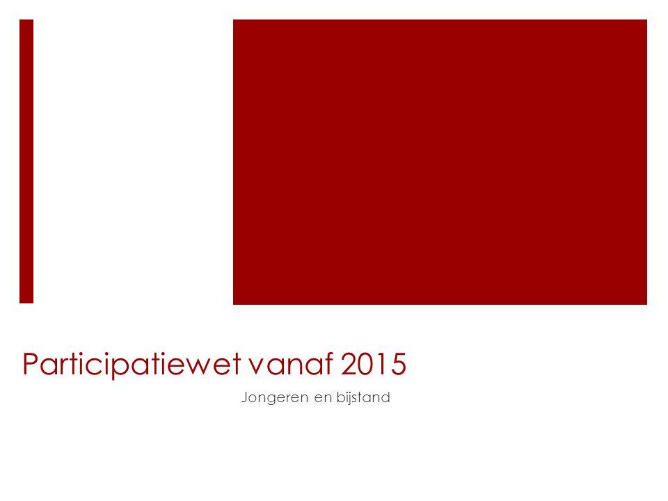 Participatiewet vanaf 2015