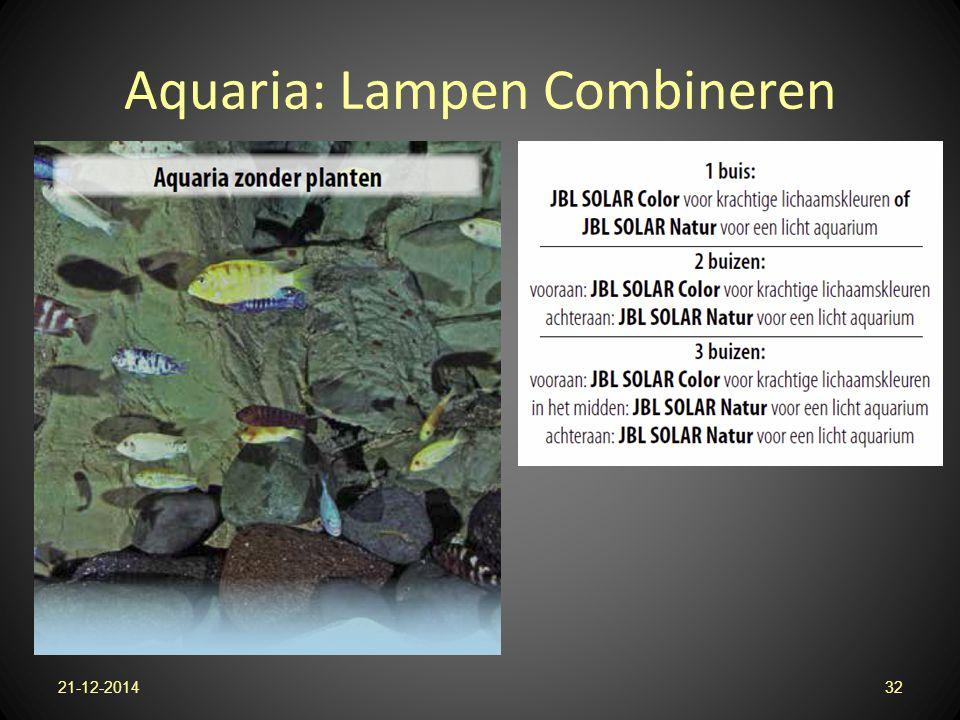 Aquaria: Lampen Combineren