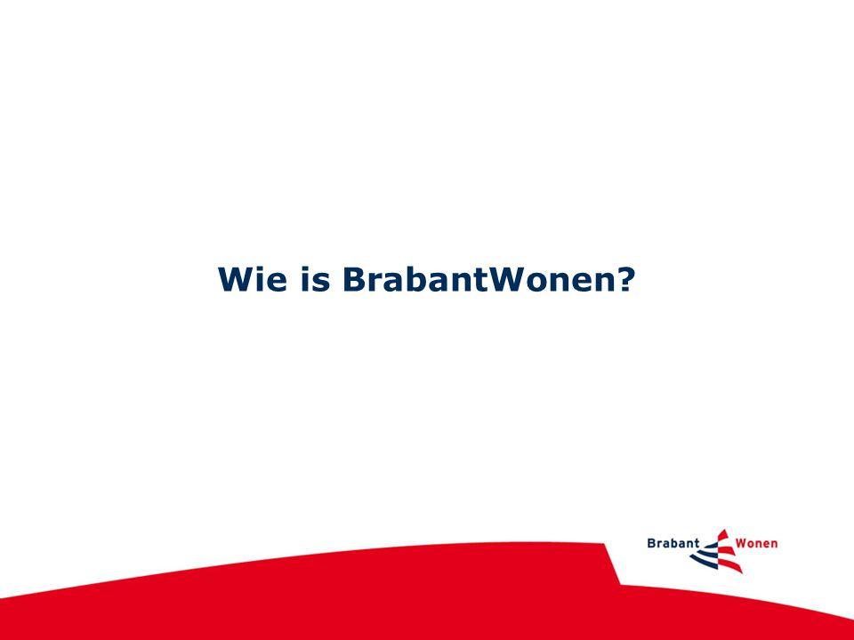 Wie is BrabantWonen