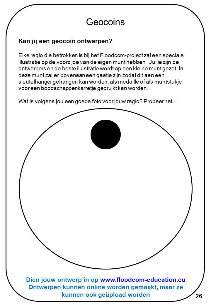 Dien jouw ontwerp in op www.floodcom-education.eu