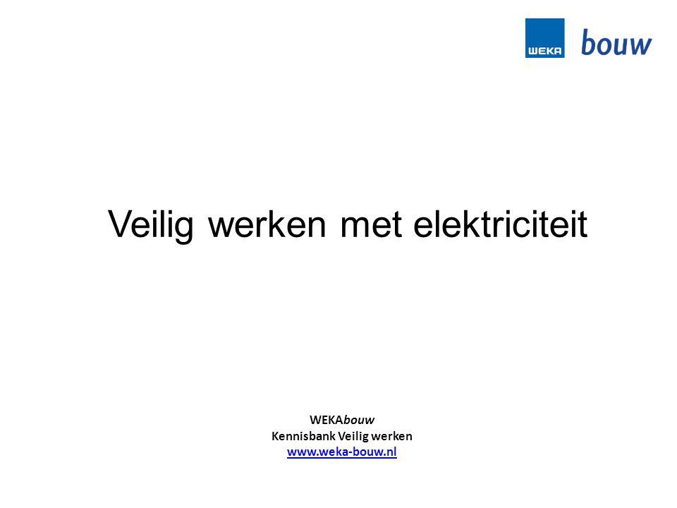 Veilig werken met elektriciteit