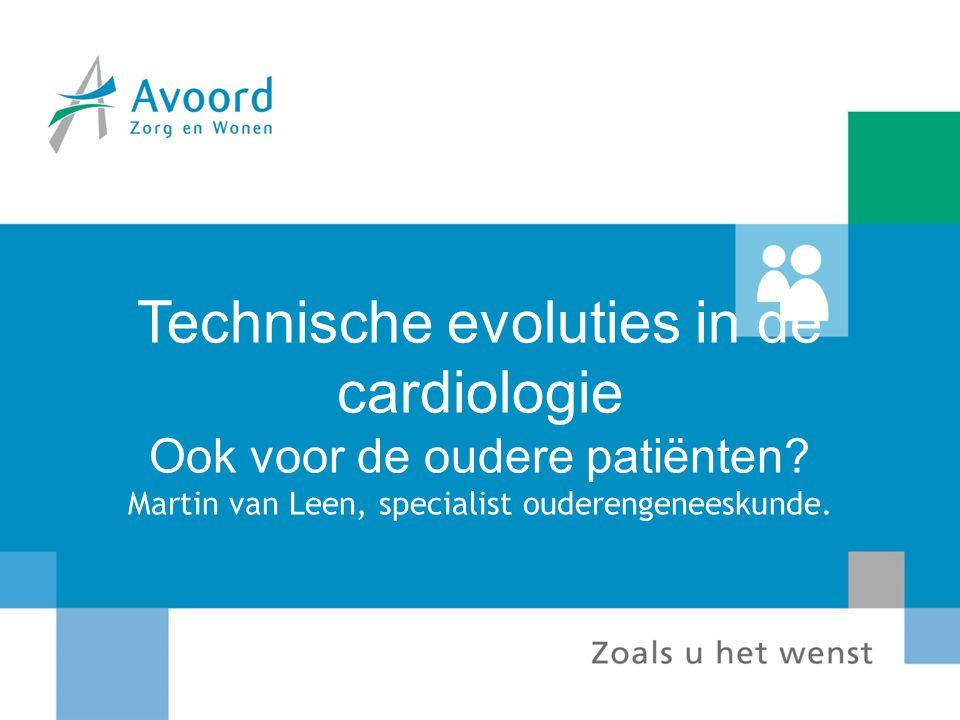 Technische evoluties in de cardiologie Ook voor de oudere patiënten