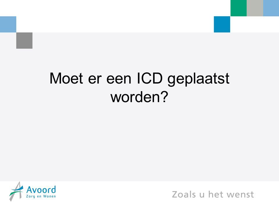 Moet er een ICD geplaatst worden