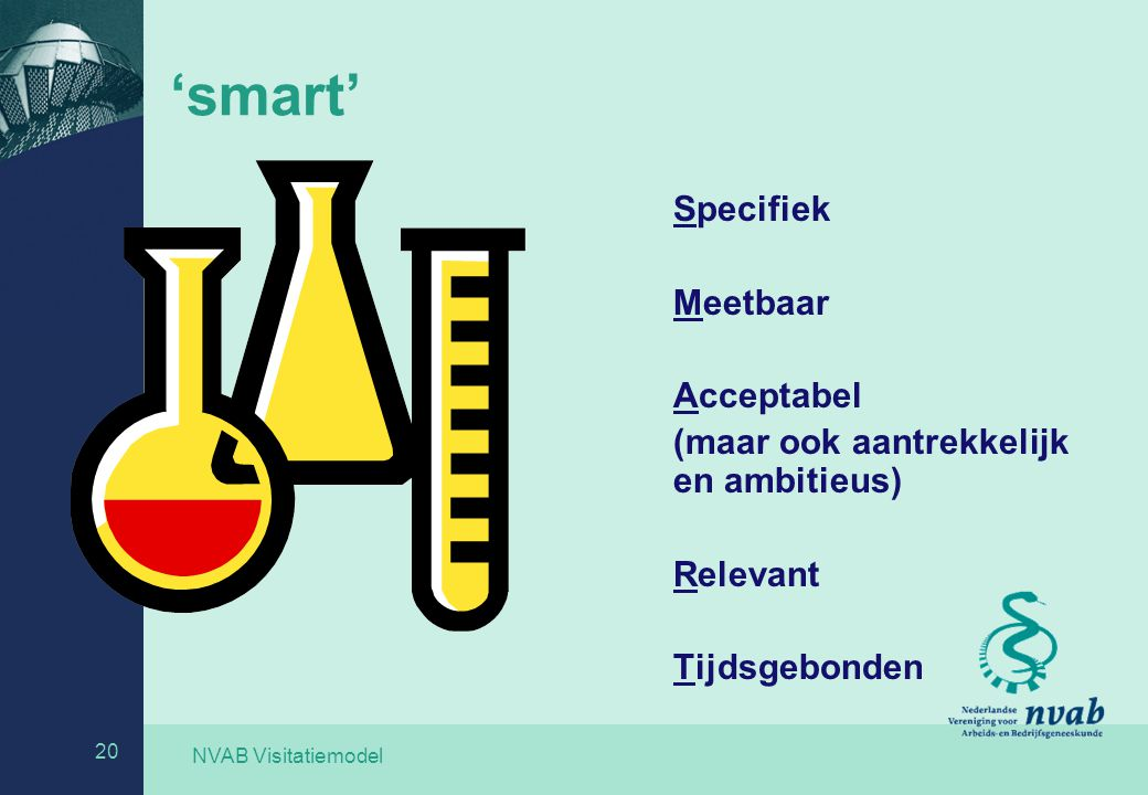 'smart' Specifiek Meetbaar Acceptabel