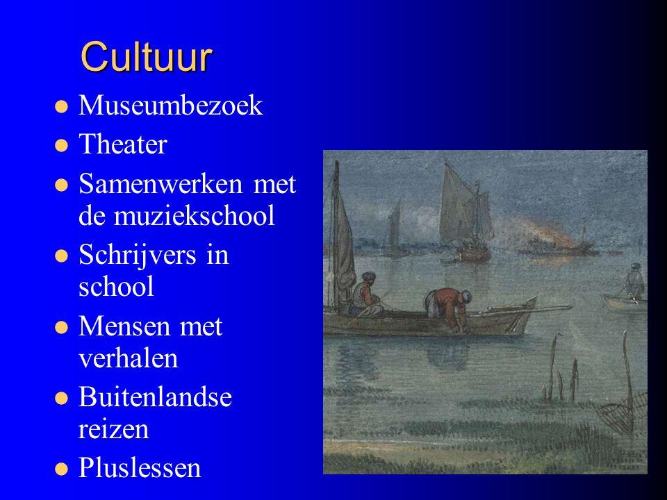Cultuur Museumbezoek Theater Samenwerken met de muziekschool