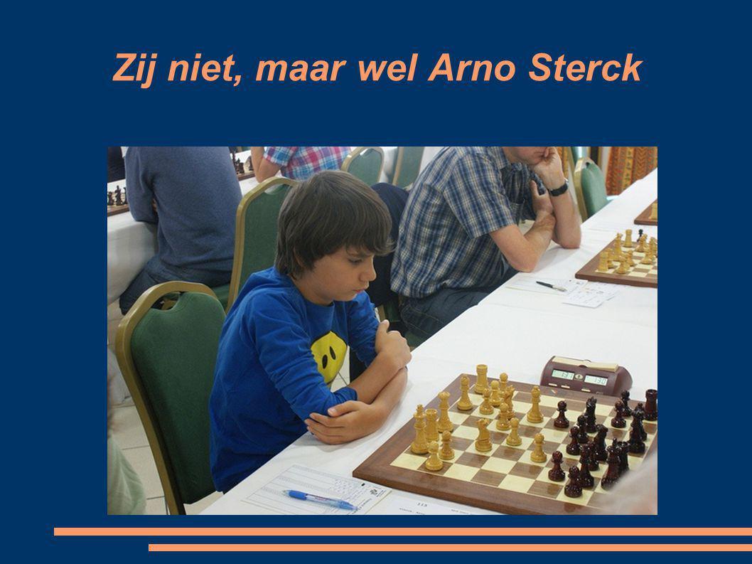 Zij niet, maar wel Arno Sterck