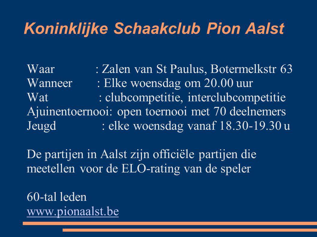 Koninklijke Schaakclub Pion Aalst