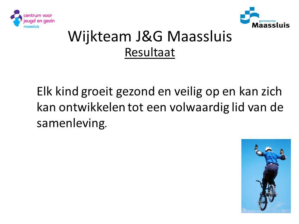 Wijkteam J&G Maassluis