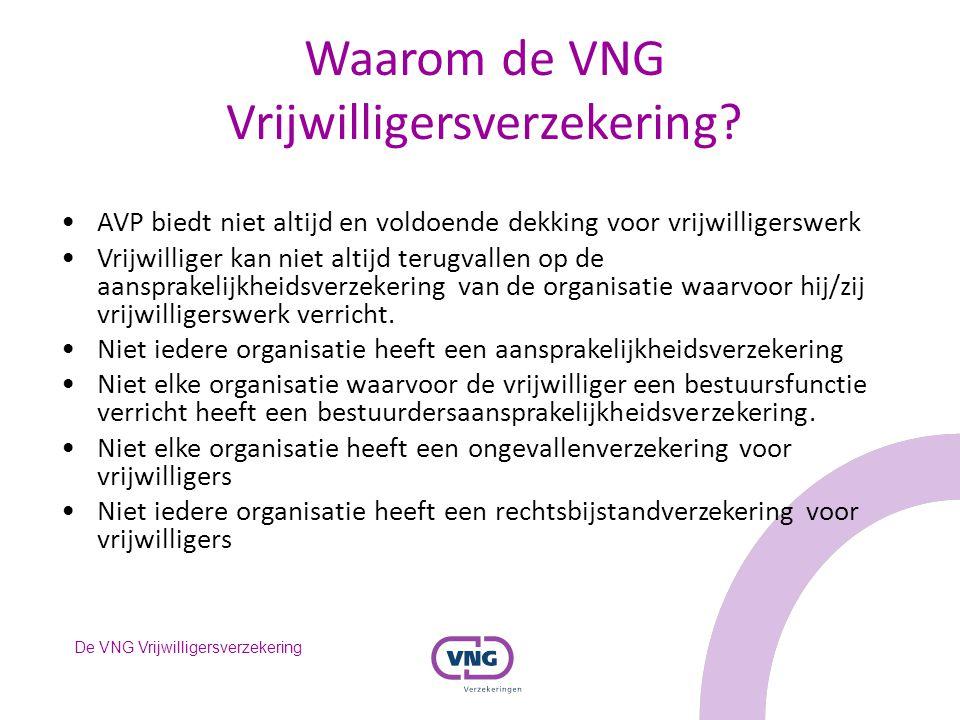 Waarom de VNG Vrijwilligersverzekering