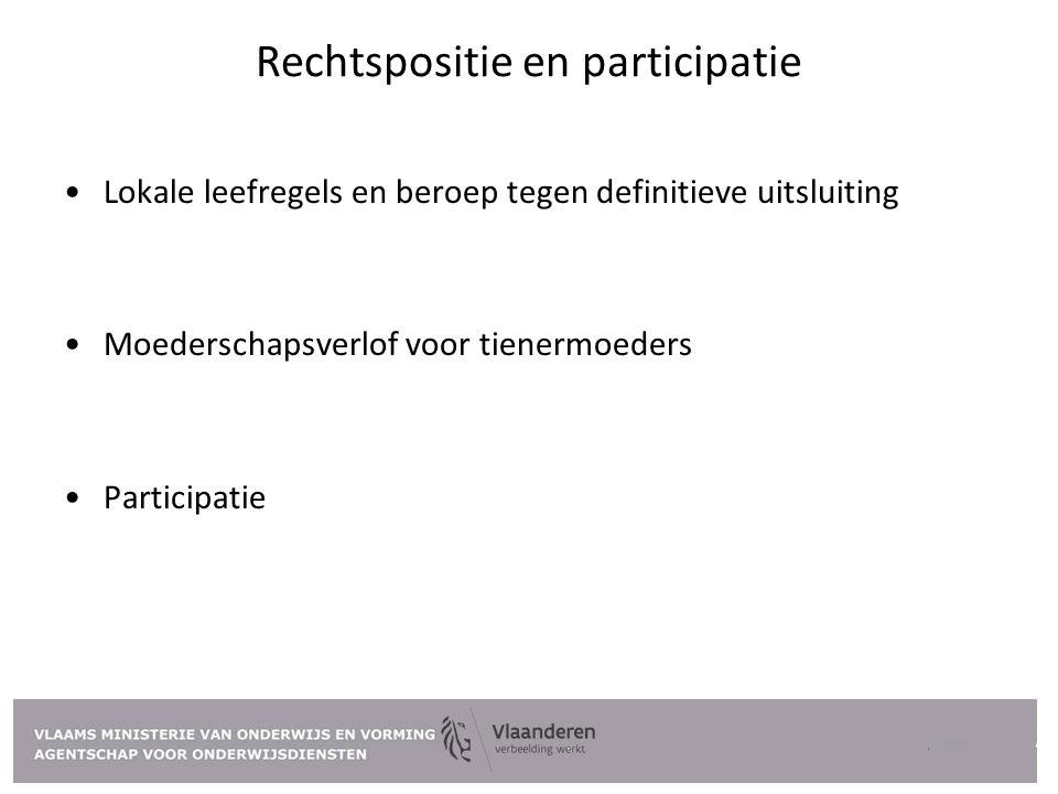Rechtspositie en participatie
