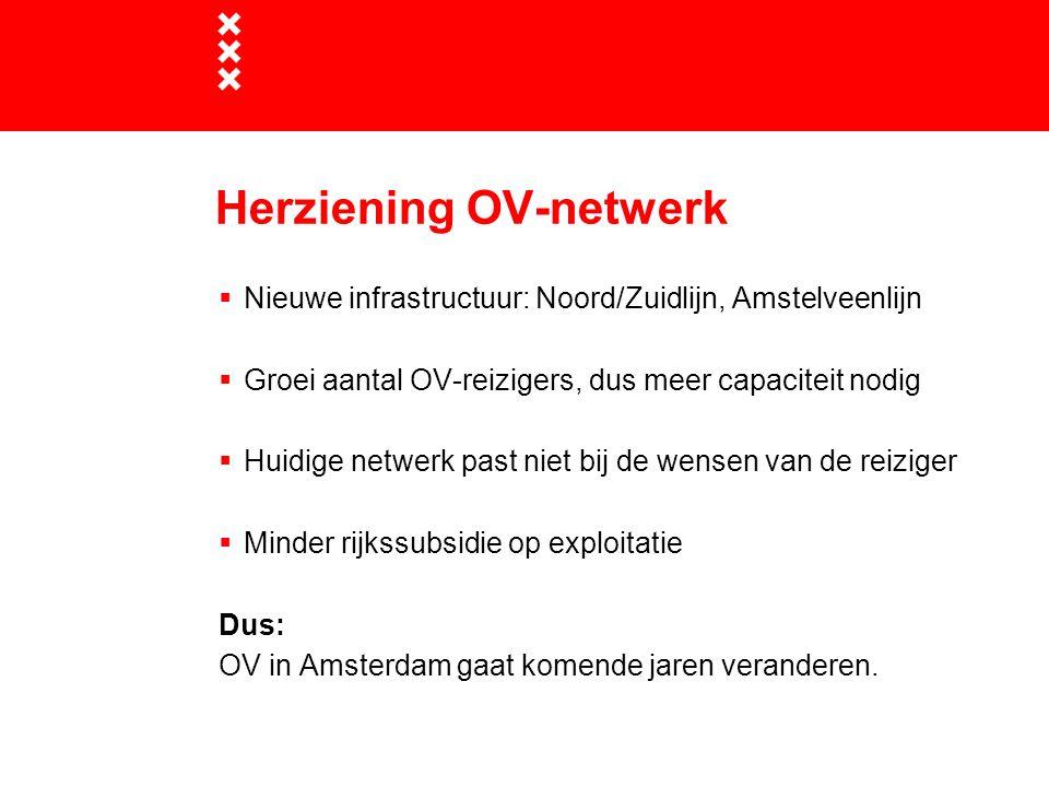 Herziening OV-netwerk