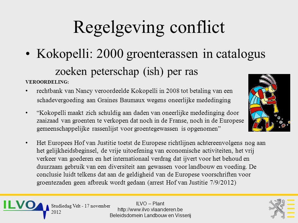 Regelgeving conflict Kokopelli: 2000 groenterassen in catalogus