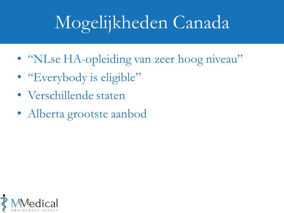 Mogelijkheden Canada NLse HA-opleiding van zeer hoog niveau