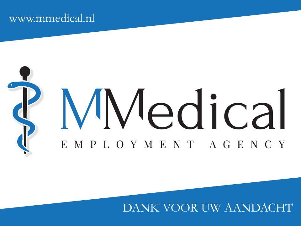 www.mmedical.nl DANK VOOR UW AANDACHT