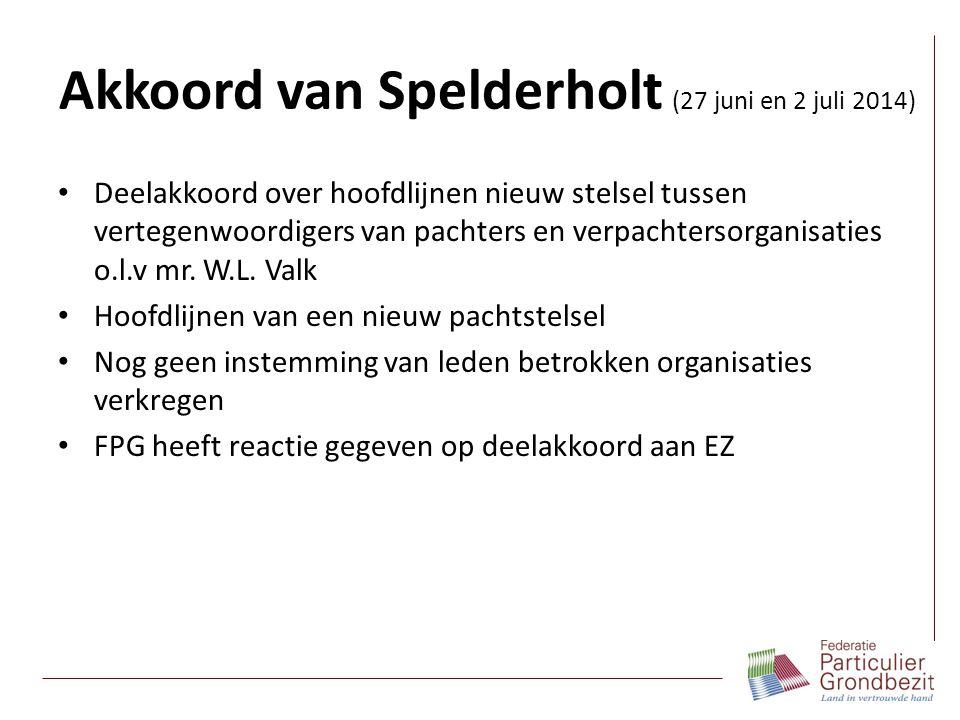 Akkoord van Spelderholt (27 juni en 2 juli 2014)