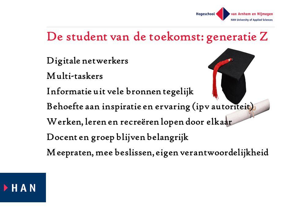 De student van de toekomst: generatie Z