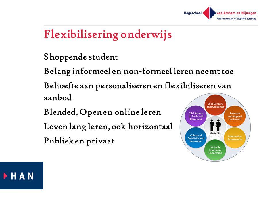 Flexibilisering onderwijs