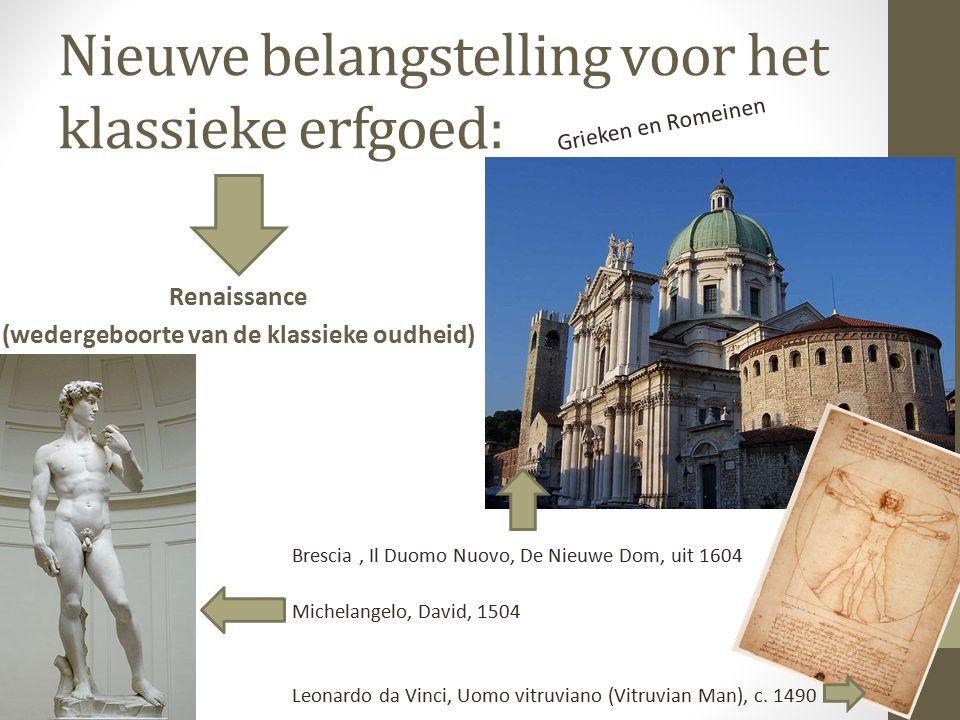 Nieuwe belangstelling voor het klassieke erfgoed: