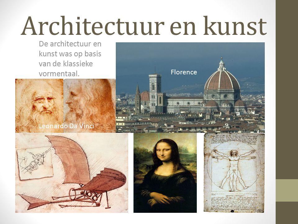 De architectuur en kunst was op basis van de klassieke vormentaal.