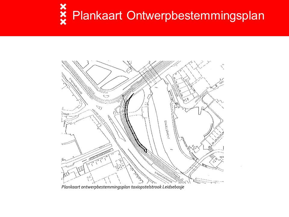 Plankaart Ontwerpbestemmingsplan