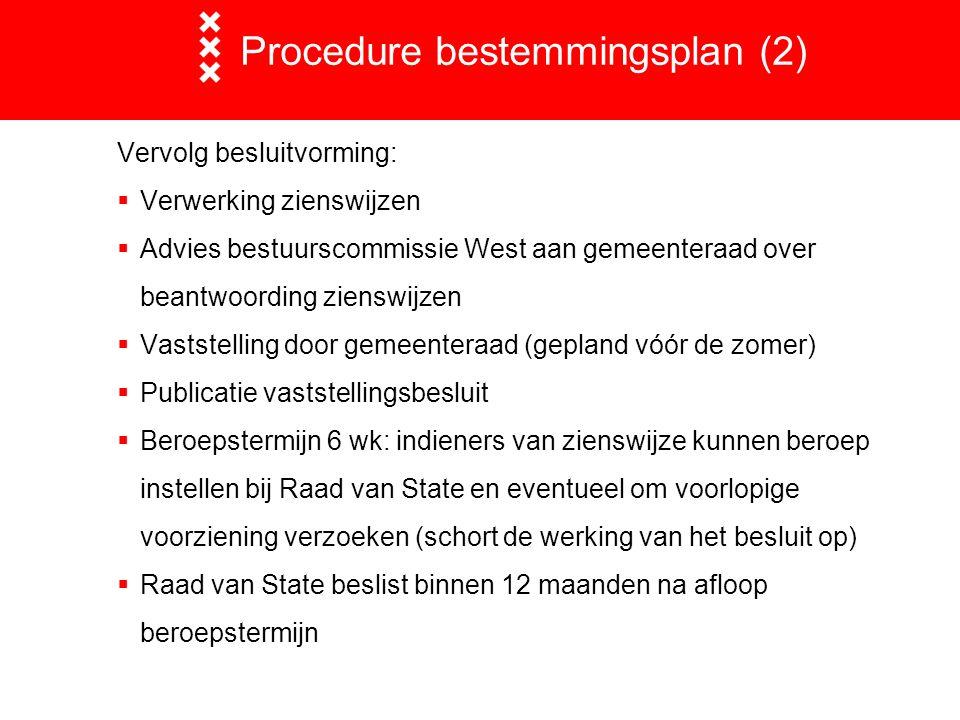 Procedure bestemmingsplan (2)