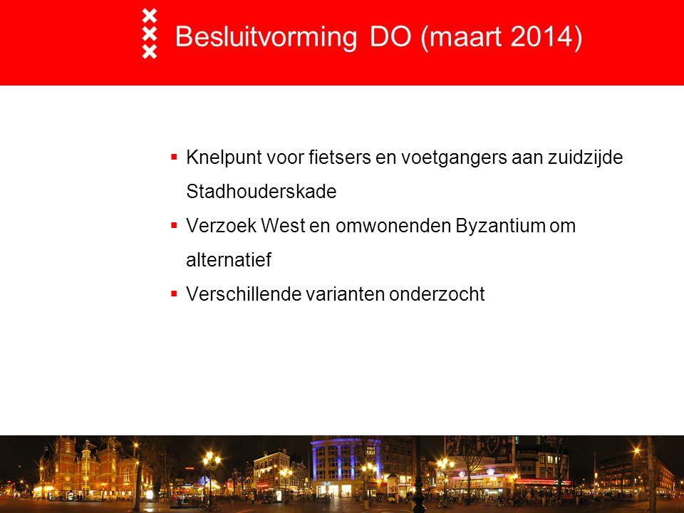 Besluitvorming DO (maart 2014)