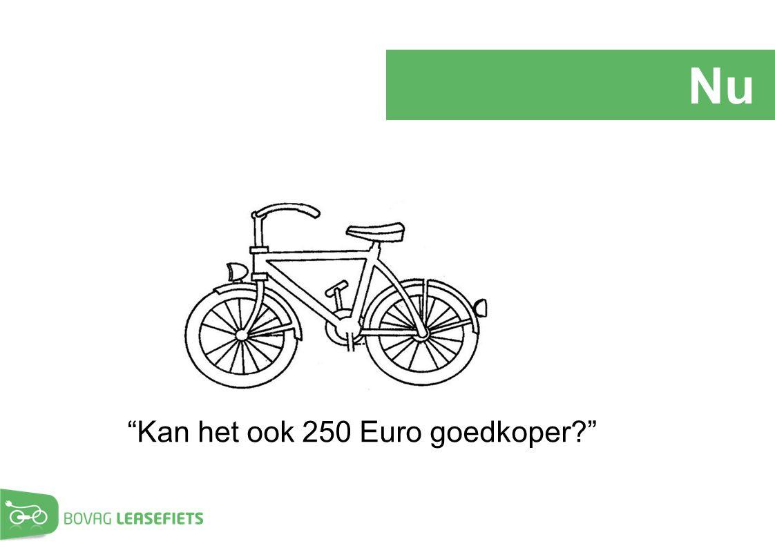 Nu Kan het ook 250 Euro goedkoper