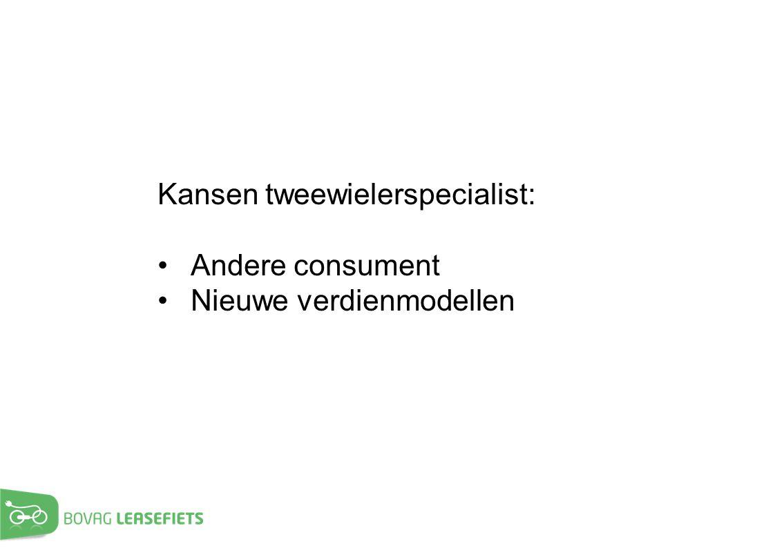 Kansen tweewielerspecialist:
