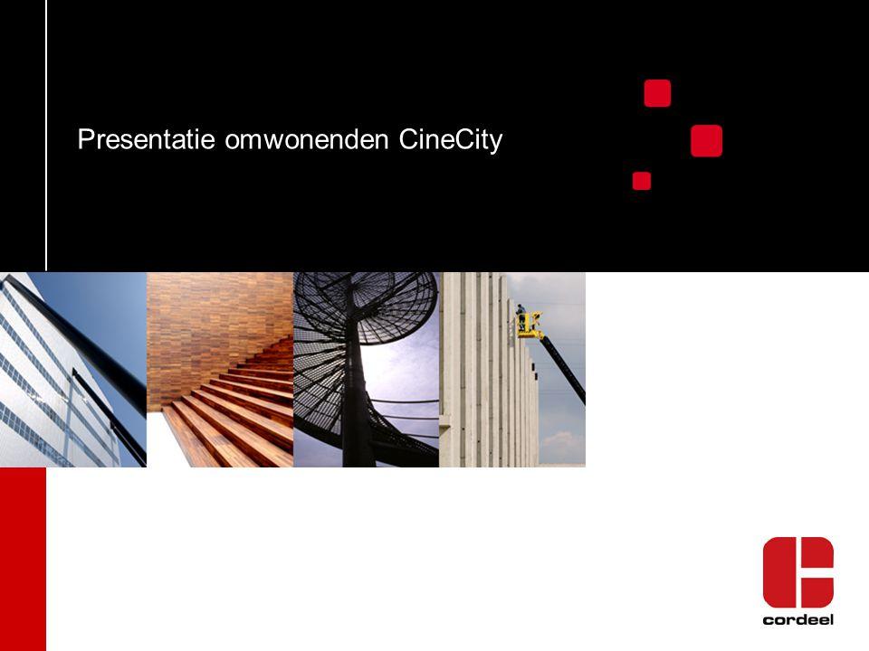 Presentatie omwonenden CineCity